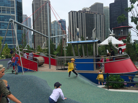 Maggie Daley Park Ship