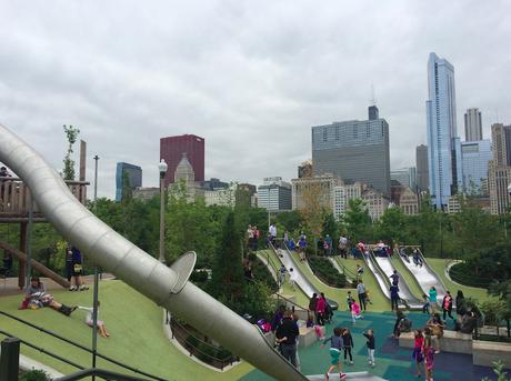 Maggie Daley Park Slides