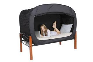 Image: Privacy Pop Bed Tent - Shop USA