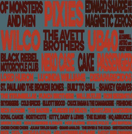 2015 TURF Artist Lineup