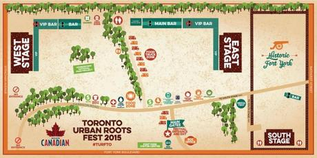 2015 TURF Site Map