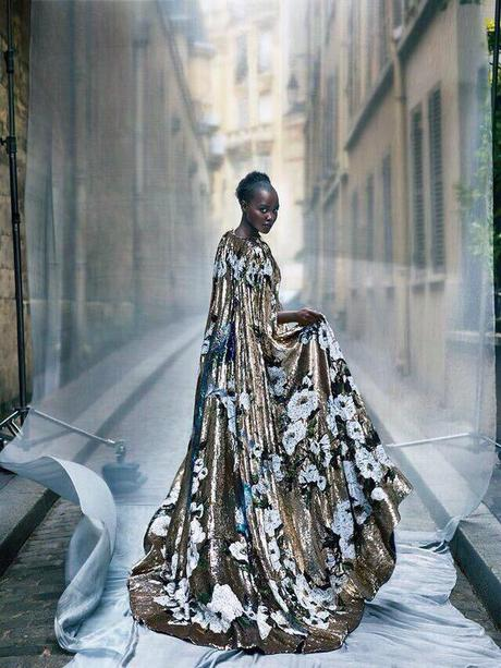 Lupita Nyong'o Looks Stunning On Her Second Cover For Vogue Magazine
