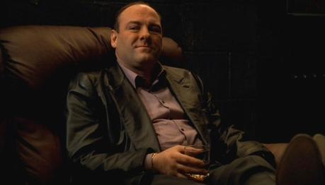 The Sopranos: Tony's Black Leather Blazer