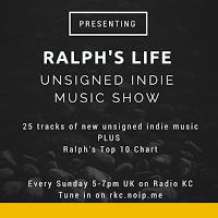 Ralph's Top 10 Blogged Band Chart - 19.9.15