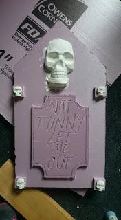 Halloween Headstones DIY