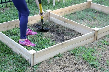 how to keep soil from washing away in raised bed