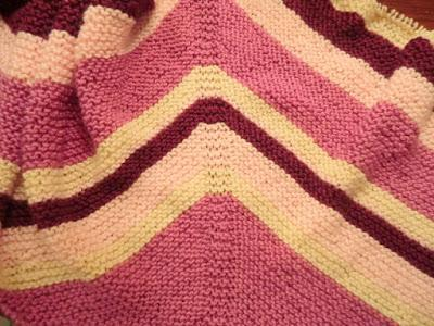 Another Simple Knit Shawl