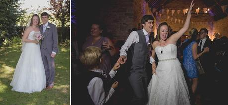 Evening party at Kingston Country Courtyard Wedding