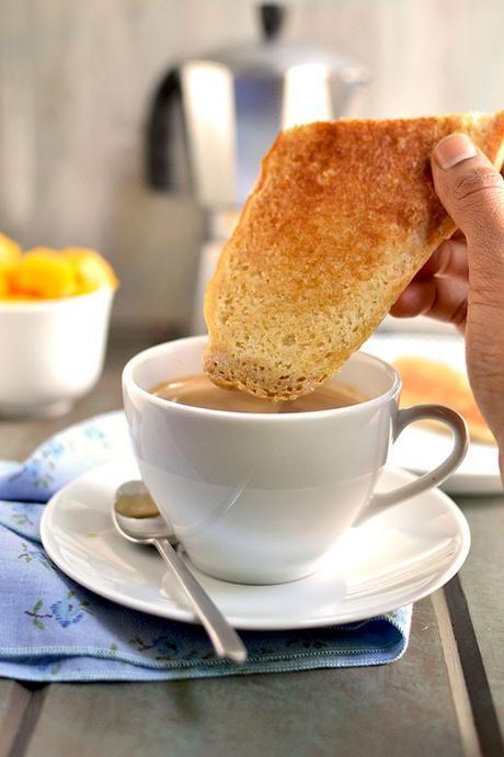 Cuban Breakfast Sandwich & Coffee
