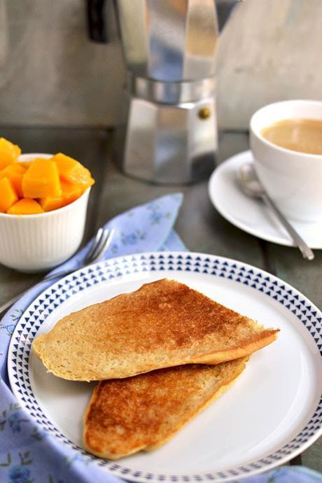 Cuban Breakfast Sandwich with Coffee