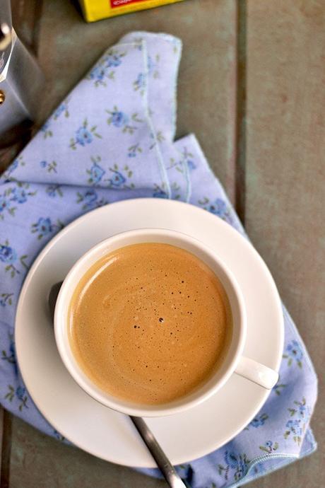 Cuban Coffew with Milk