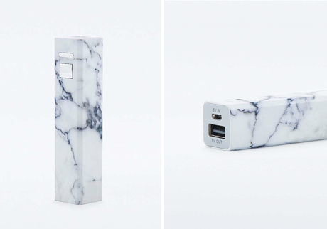 marble iphone charger