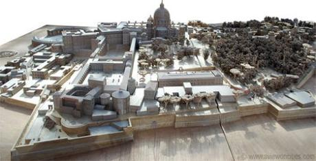 Vatican City scale model
