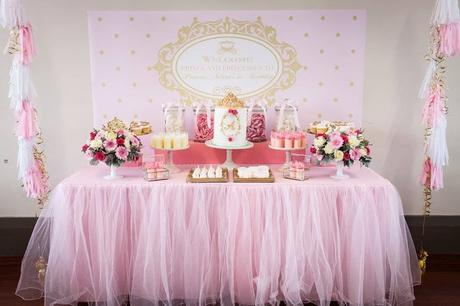 Beautiful Princess Themed 1st Birthday By Oh Feri