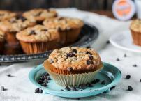 Coffee Chocolate Chip Streusel Muffins