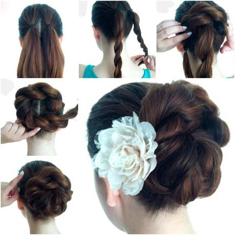 Easy Indian Hairstyles Step By Images Unixcode