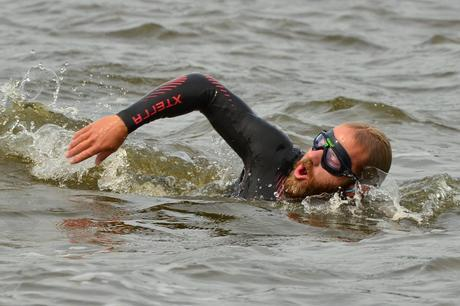 Adventurer Swimming the Length of the Mississippi River