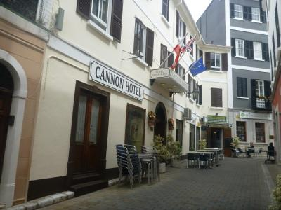 Staying at the Cannon Hotel in Gibraltar