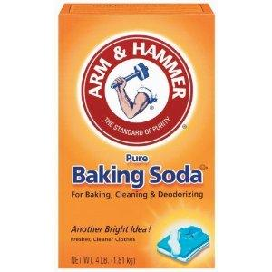 Arm + Hammer Baking Soda (01170) 4 lb. box - Freshens and deodorizes