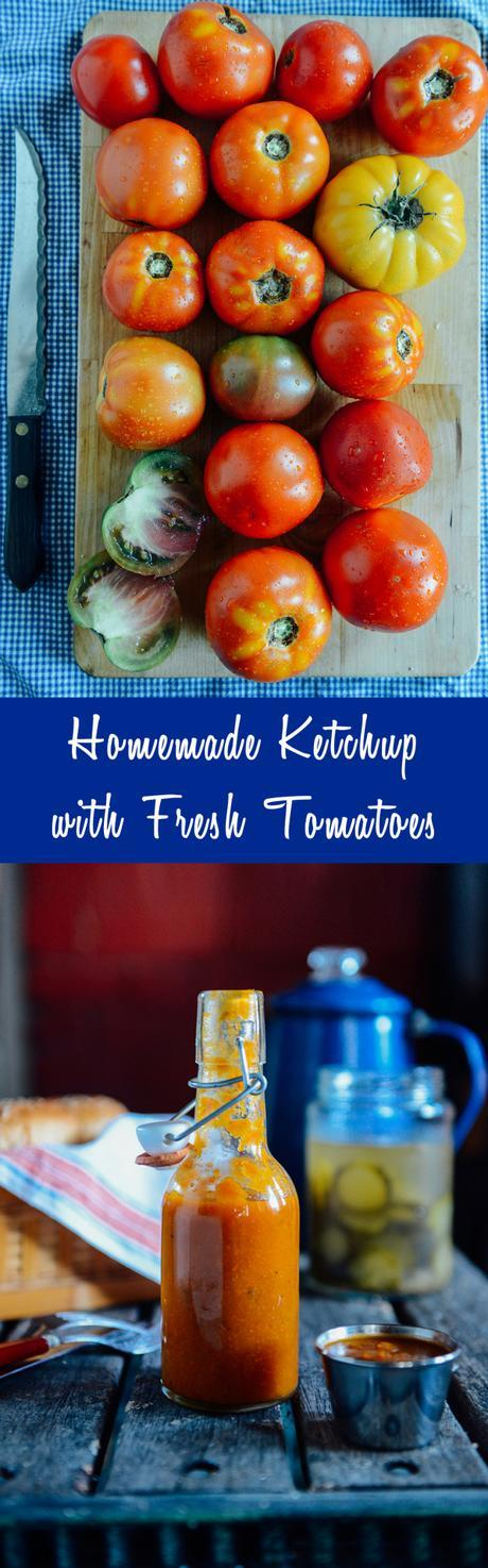 Homemade Ketchup // www.WithTheGrains.com