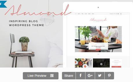 Almond - Inspiring Blog WordPress Theme