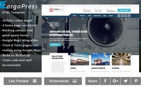 CargoPress WordPress Theme