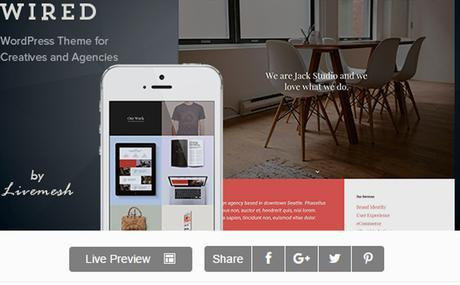 Wired - Multi-Purpose Portfolio WordPress Theme