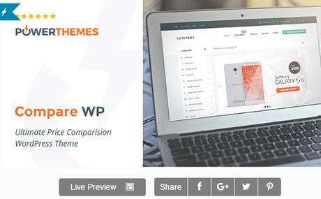 Price Compare - Price Comparison WordPress Theme