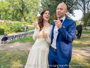 A Danish Wedding on Cherry Hill in Central Park
