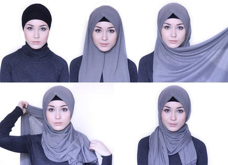 Tutorial 4 Easy,to,Wear Hijab Styles for Everyday Look