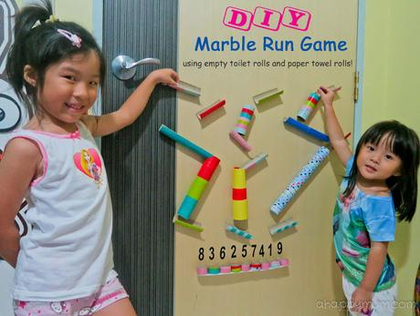 paper marble run how to make turns