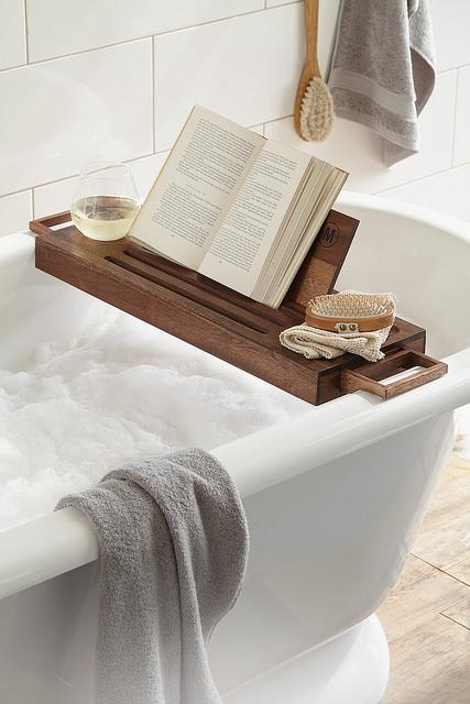 How To Make Your Own Bathtub Tray Paperblog