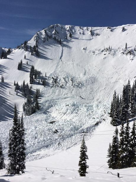 The avalanche that destroyed Crystal Mountain's Chair 6