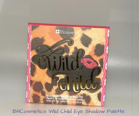 BH Cosmetics Wild Child Eye Shadow Palette Swatches