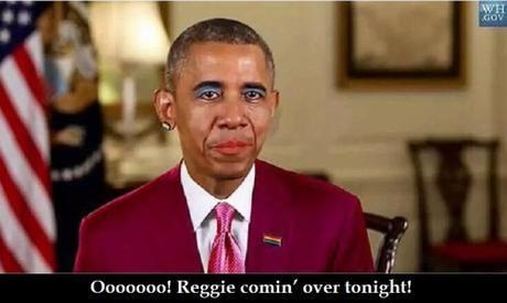 Tranny Obama