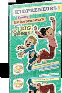 Book Review: KIDPRENEUR$- Young Entrepreneurs with BIG Ideas