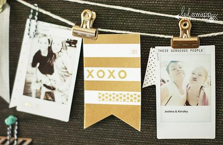 giving the gift of memories...with Instax and Heidi Swapp