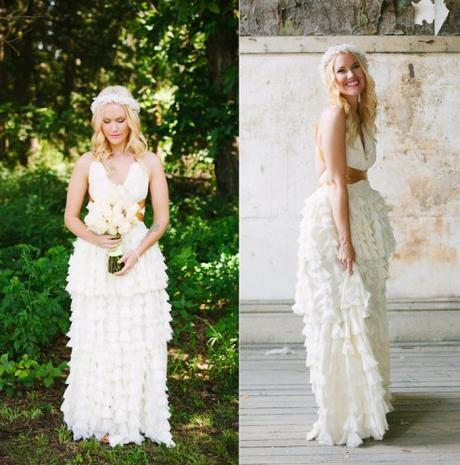 Gorgeous Wedding Dresses You Won't Believe are Handmade