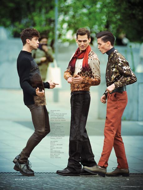 Alexis Petit, Christopher Michaut and Quentin Lejarre in