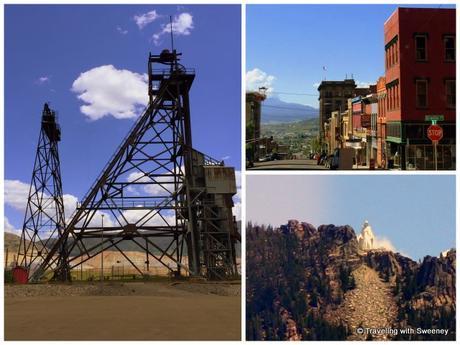 Iconic scenes of Butte: headframes, historic