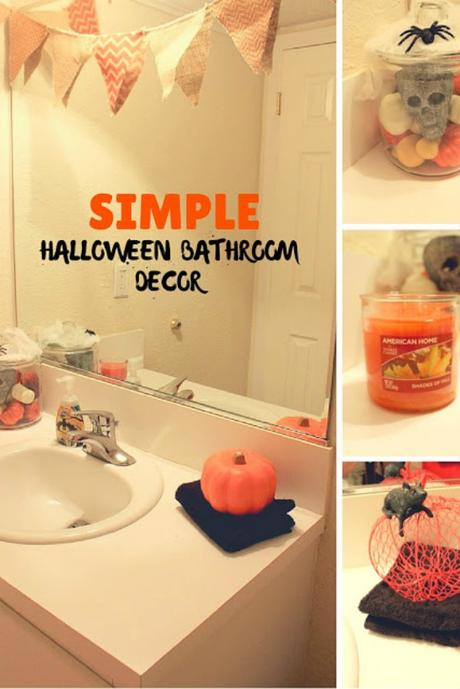 simple halloween bathroom decorating tips loveamericanhome ad