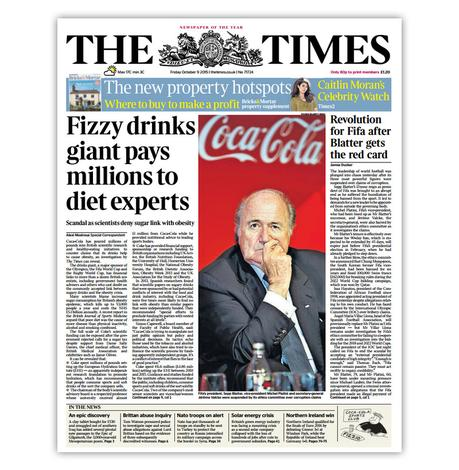 The Coca-Cola-Funded Obesity Experts Scandal Hits the UK