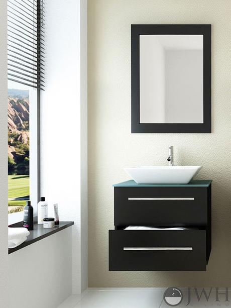 Small Modern Bathroom Remodel Before Amp After Paperblog