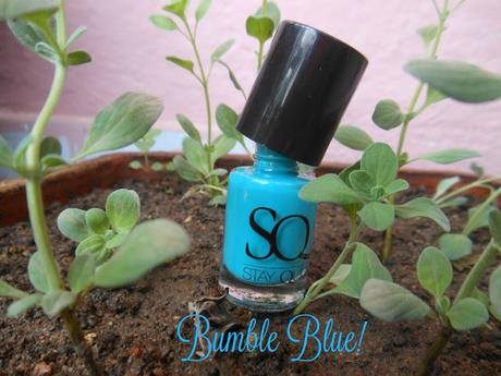 Stay Quirky Gel Finish Nail Lacquer : Bumble Blue (452)