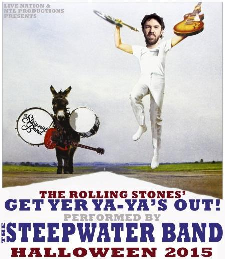 """The Steepwater Band:  """"Get Yer Ya-Ya's Out!"""" Halloween shows"""