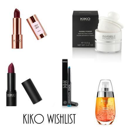 Wishlist | Kiko Milano Cosmetics