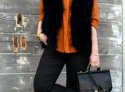 Look Day: Debbie Downer Feather Vest