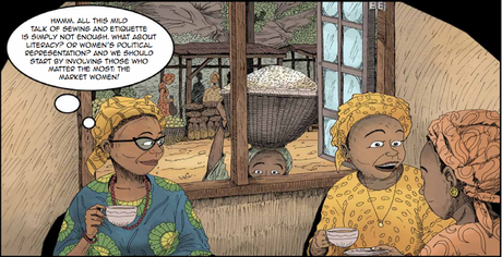 55 Years of Nigerian Literature: The Illustrations of Alaba Onajin