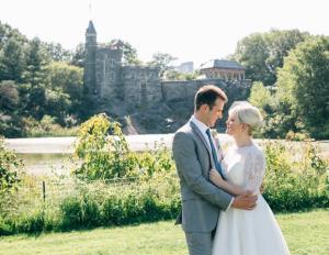 Central Park E&L Belvedere Castle Wedding