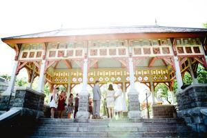 Central Park E&L Belvedere Castle Wedding Ceremony